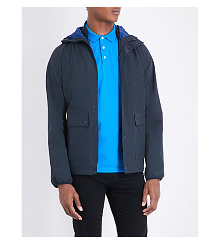 BARBOUR Weir shell jacket (Navy