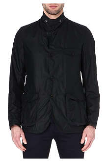 BARBOUR Commander waxed-cotton jacket