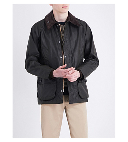 BARBOUR Bedale waxed jacket (Olive
