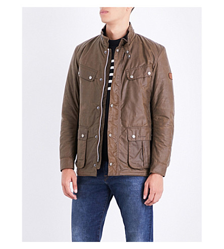 BARBOUR Duke waxed-cotton jacket (Bark