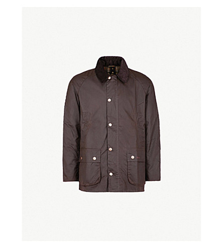 BARBOUR Ashby waxed-cotton jacket (Olive