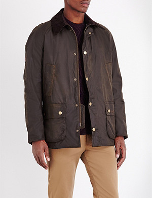 BARBOUR Ashby waxed-cotton jacket