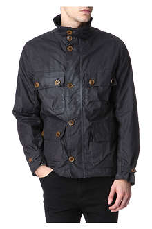 BARBOUR Greymare waxed-cotton jacket