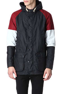 BARBOUR Beauson waxed-cotton jacket