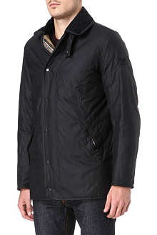 BARBOUR Devron waxed cotton jacket