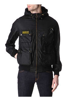 BARBOUR Glanton waxed-cotton jacket