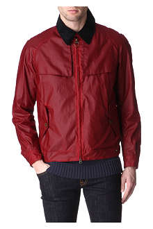 BARBOUR Blast waxed-cotton jacket