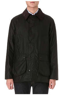 BARBOUR Bedale waxed-cotton jacket