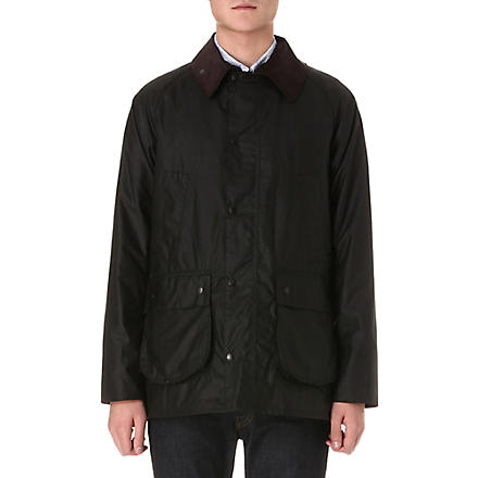 BARBOUR Bedale waxed-cotton jacket (Olive