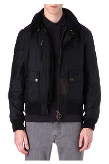 BARBOUR Hunnam wax-cotton jacket