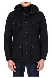 BARBOUR Fog waxed parka jacket