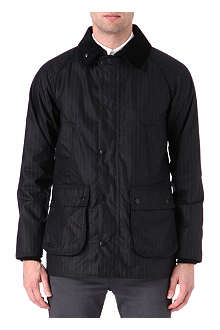 BARBOUR Bedale pinstripe waxed jacket