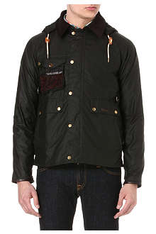 BARBOUR Standen waxed fishing jacket