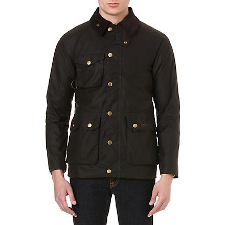 BARBOUR Bedale waxed fishing jacket (Olive