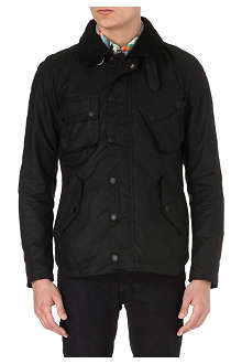 BARBOUR Pelton waxed-cotton jacket