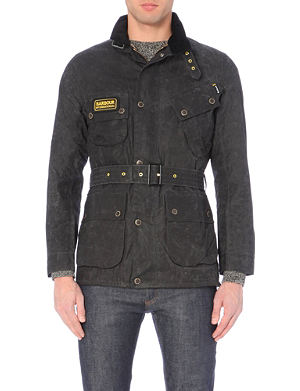 BARBOUR Slim International Wax Jacket