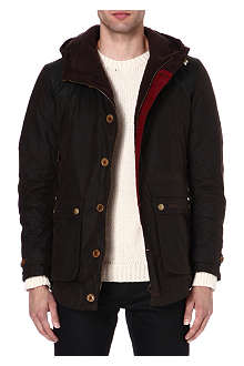 BARBOUR Waxed hunting game parka