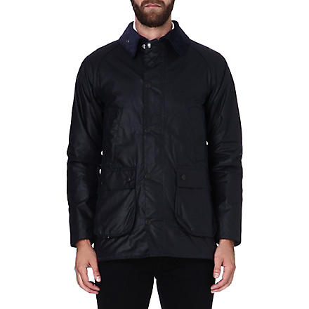 BARBOUR Bedale waxed jacket (Navy