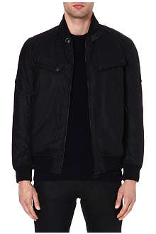BARBOUR Tonal logo bomber jacket