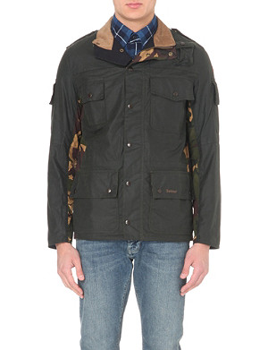 BARBOUR Cowen Commando waxed-cotton jacket