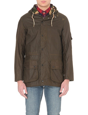 BARBOUR Durham waxed cotton jacket