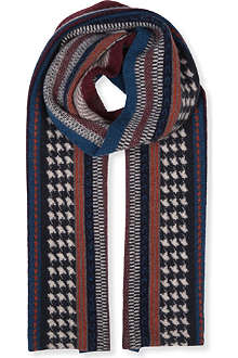 BARBOUR Bayfield textured scarf