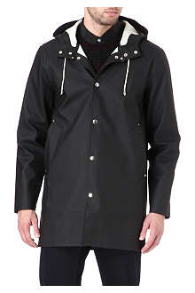 STUTTERHEIM Mid-length black raincoat