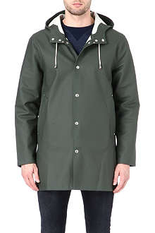 STUTTERHEIM Mid-length green raincoat