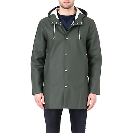 STUTTERHEIM Mid-length green raincoat (Green