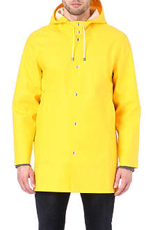 STUTTERHEIM Mid-length yellow raincoat