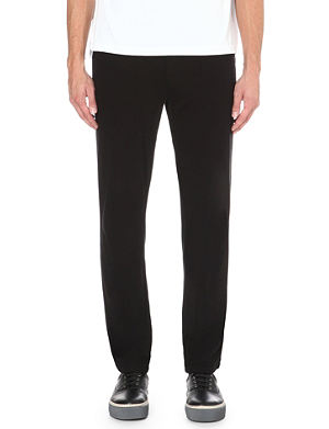 JAMES PERSE Classic cotton-jersey jogging bottoms