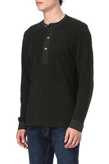 FARRELL Military Henley top