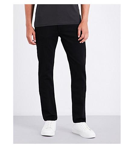 CALVIN KLEIN Stay slim-fit straight-leg jeans (Shadow+grey