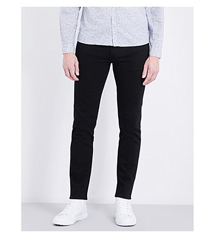 CALVIN KLEIN Slim-fit skinny jeans (Stay+black