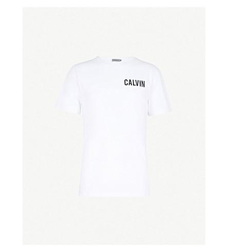CALVIN KLEIN JEANS Toreos Hardcore cotton-jersey T-shirt (Bright+white