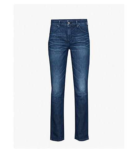 CALVIN KLEIN JEANS Slim-fit tapered jeans (Elsa+blue