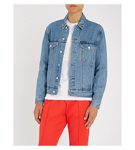 CK JEANS Calvin Klein 牛仔裤牛仔夹克 (丹麦 + 蓝