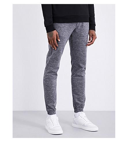 CALVIN KLEIN Marl woven jogging bottoms (Grey