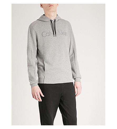 CALVIN KLEIN Kams cotton-jersey hoody (Grey