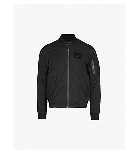 CALVIN KLEIN Omas shell bomber jacket (Black