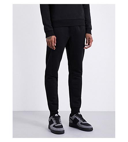CALVIN KLEIN Katma cotton-jersey jogging bottoms (Perfect+black