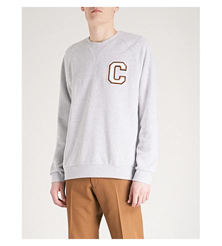 CALVIN KLEIN Kamus cotton-jersey sweatshirt (Grey