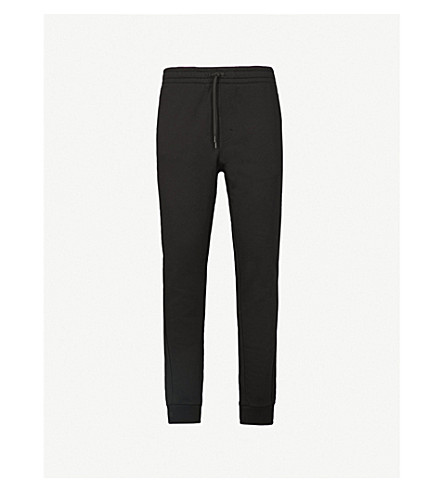 CALVIN KLEIN Katmam cotton-jersey jogging bottoms (Black