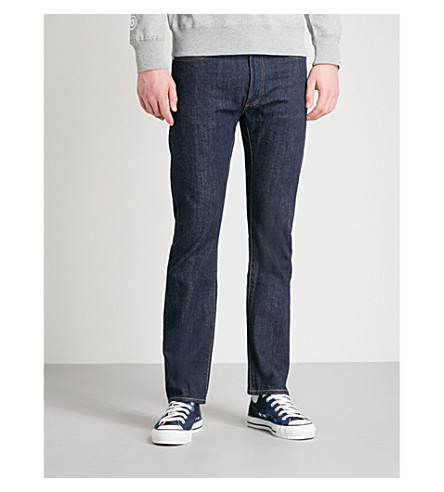 A BATHING APE 2008 Type-05 slim-fit tapered jeans (Indigo