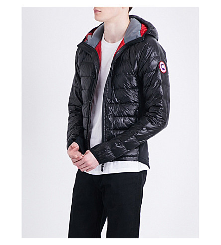 canada goose quilted shell jacket