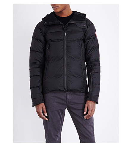CANADA GOOSE Hybridge perren hooded jacket (Black