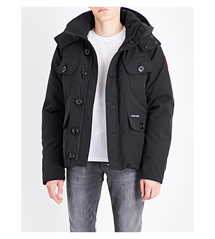 CANADA GOOSE Selkirk padded shell parka (Black