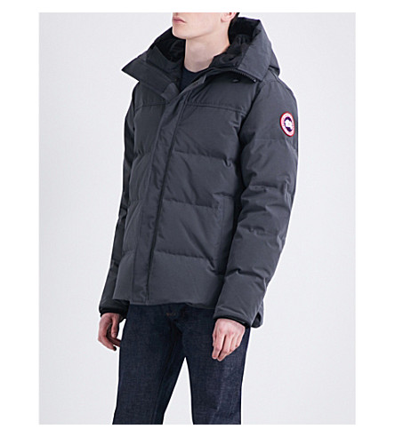 CANADA GOOSE Macmillan quilted shell parka (Graphite