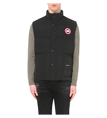 CANADA GOOSE Freestyle quilted shell gilet (Black