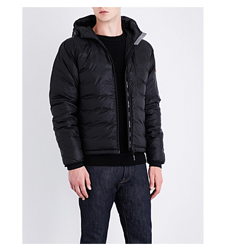 CANADA GOOSE Lodge quilted shell jacket (Black:7